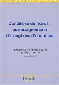 Thomas Coutrot et Jennifer Bué - Conditions de travail : les enseignements de vingt ans d'enquête.