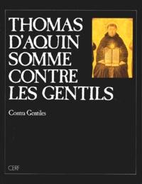 Thomas d'Aquin - Somme contre les gentils.