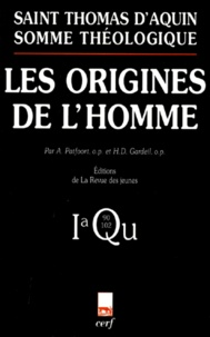 Accentsonline.fr Somme théologique Tome 6 - Les origines de l'homme Image