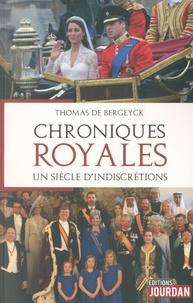 Thomas de Bergeyck - Chroniques royales.
