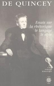 Deedr.fr Essais sur la rhétorique, le langage, le style Image
