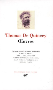 Thomas de Quincey - Oeuvres.