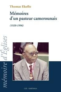 Goodtastepolice.fr Mémoire d'un pasteur camerounais (1920-1996) Image