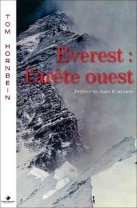 Thomas-F Hornbein - Everest : l'arête ouest.