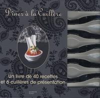 Galabria.be Dîner à la Cuillère - Un livre de 40 recettes et 6 cuillères de présentation Image