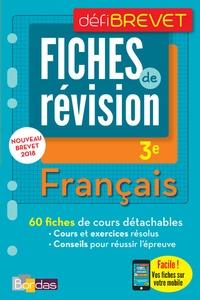 Thomas Gargallo - Français 3e - Fiches de révision.