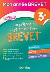 Thomas Gargallo et Sylvain Ansart - Mon année Brevet - Je prépare et réussis mon Brevet 3e.