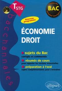 Thomas Gevrey et Marie O'maden - Economie Droit Tle STG - Epreuves écrites et orales.