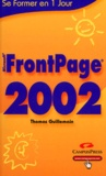 Thomas Guillemain - FrontPage 2002.