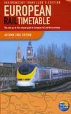 Thomas-H Cook - European Rail Timetable - Independant Travellers, édition en langue anglaise.