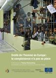 Thomas Hammarberg - Droits de l'homme en Europe : la complaisance n'a pas sa place.