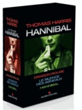 Thomas Harris - Hannibal  : Coffret en 3 volumes - Dragon rouge ; Le silence des agneaux ; Hannibal.