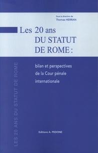 Thomas Herran - Les 20 ans du Statut de Rome : bilan et perspectives de la Cour pénale internationale.
