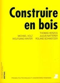 Construire en bois - Thomas Herzog |