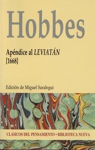 Thomas Hobbes - Apéndice al leviatán (1668).