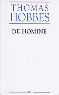 Thomas Hobbes - De homine - Elementorum philosophiae sectio secunda.