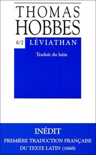 Thomas Hobbes - Léviathan - Tome 6/2.
