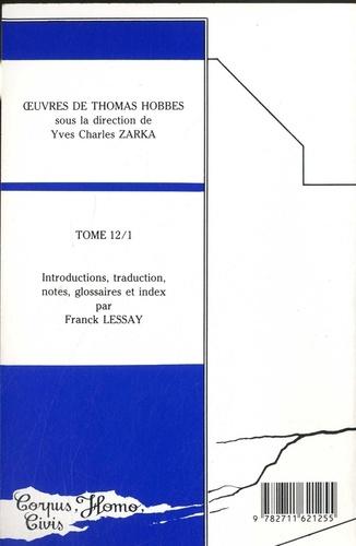 Oeuvres. Tome 12-1, Textes sur l'hérésie et sur l'histoire