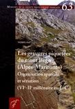 Thomas Huet - Les gravures piquetées du mont Bego (Alpes-Maritimes) - Organisation spatiale et sériation (VIIe-IIe millénaire av. J.-C.).