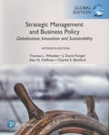 Thomas L. Wheelen et J. David Hunger - Strategic Management and Business Policy - Globalization, Innovation and Sustainability, Global Edition.