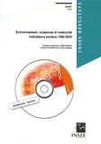 Thomas Le Jeannic et Joëlle Vidalenc - Environnement, nuisances et insécurité - Indicateurs sociaux 1996-2004. 1 Cédérom