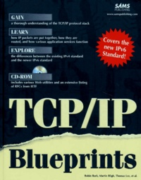Corridashivernales.be TCP/IP BLUEPRINTS. Avec CD-ROM, Edition en anglais Image
