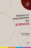 Thomas Lepeltier et  Collectif - Histoire et philosophie des sciences.