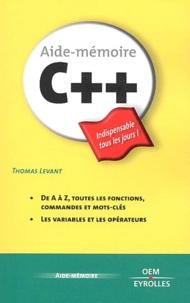 Thomas Levant - C++.