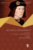 Thomas More et Jean-pierre Villequin - Histoire du roi Richard III.