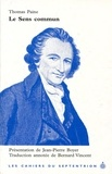 Thomas Paine - Le sens commun.