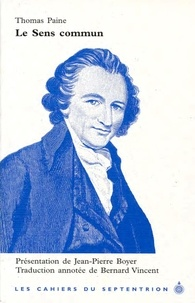 Thomas Paine - Le sens commun.