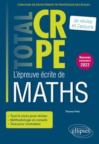 Thomas Petit - L'épreuve écrite de maths.