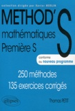 Thomas Petit - Mathématiques 1e S - 250 méthodes, 135 exercices corrigés.