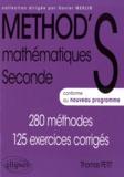 Thomas Petit - Mathématiques 2e - 280 méthodes, 125 exercices corrigés.