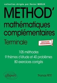 Thomas Petit - Mathématiques complémentaires Tle.
