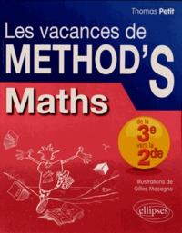 Mathématiques de la 3e à la 2e - Thomas Petit   Showmesound.org
