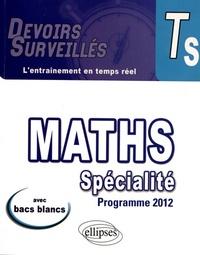 Thomas Petit - Mathématiques spécialité Tle S - Conforme au programme 2012.