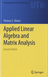Deedr.fr Applied Linear Algebra and Matrix Analysis Image
