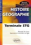 Thomas Snégaroff - Histoire-Géographie Tle STG.