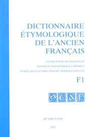 Histoiresdenlire.be Dictionnaire étymologique de l'ancien français - F1 Image