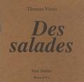 Thomas Vinau - Des salades.