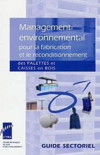 Thomas Viotti - Management environnemental pour la fabrication et le reconditionnement des palettes et caisses en bois.