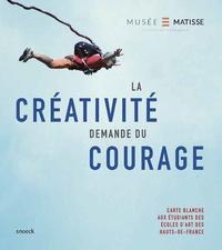 Thomas Wierzbinski et Patrice Departe - La créativité demande du courage - Carte blanche aux étudiants des Ecoles d'art des Hauts-de-France.