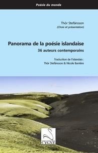 Thór Stefansson - Panorama de la poésie islandaise - 36 auteurs contemporains.