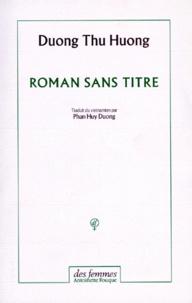 Thu Huong Duong - Roman sans titre.