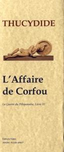 Deedr.fr La Guerre du Péloponnèse - Tome 3, L'Affaire de Corfou Image