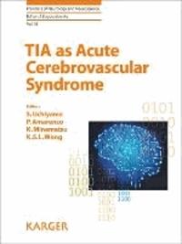 TIA as Acute Cerebrovascular Syndrome.