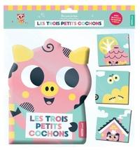 Tiago Americo - Les trois petits cochons - Avec un puzzle de bain de 9 pièces.