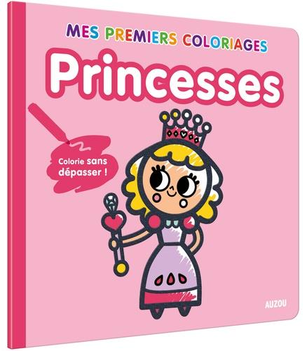 Princesses Colorie Sans Depasser De Tiago Americo Livre