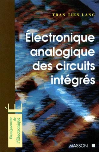 Electronique Analogique Des Circuits Integres